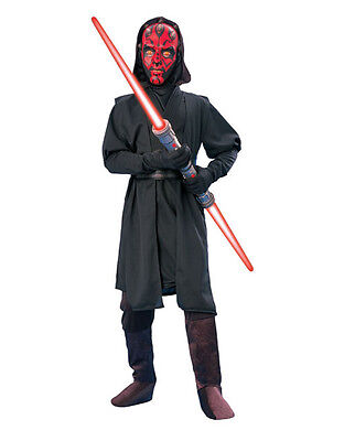 "Star Wars Kids Darth Maul Outfit Style 2, Small, Age 3-4, HEIGHT 3' 8"" - 4'"