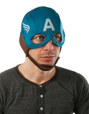 Captain America Retro Fabric Mask, Mens Winter Soldier Costume Accessory