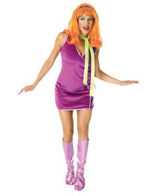 Womens Daphne Scooby Doo Costume Std (US Size 12) Bust 36-38