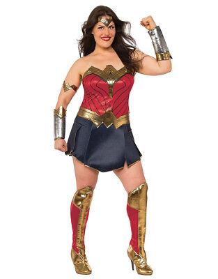Wonder Woman Womens Costume,Plus size, (USA 14-16), BUST 40-42