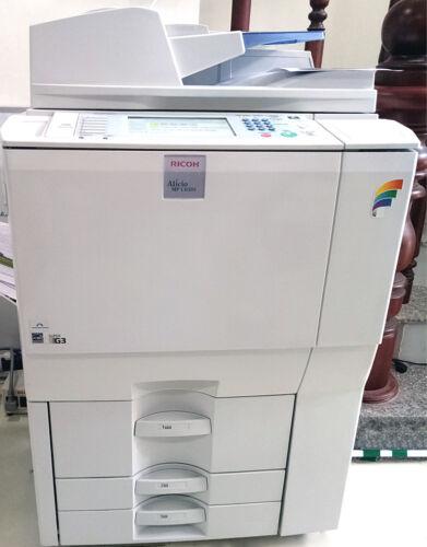 Ricoh Aficio Mp C6501 A3 Color Laser Copier Printer Scanner Mfp 65 Ppm Mp C7501