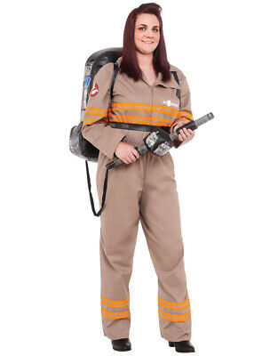 Womens Ghostbusters 2016 Movie Dlx Costume Plus (US 16-20)Bust 44-46