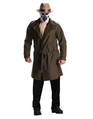 Watchmen Costume, Mens Rorschach Big Outfit, Plus size, CHEST 46 - 52