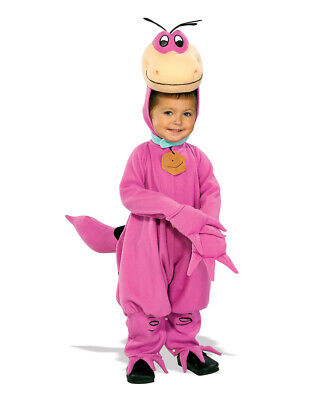 Kid's Dino Flintstones Costumes M Age 5-7 Height 127-137 cm](Flintstones Dino Costume)