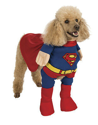 Superman Pet Dog Costume, Medium, Neck to Tail 15
