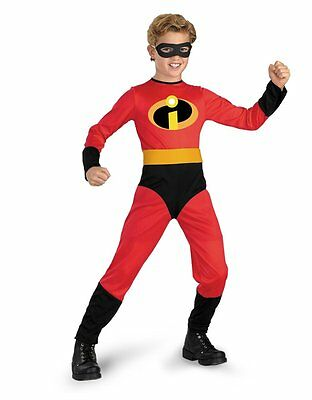 Mr. Incredible Boys Halloween Costume - Toddler/X-Small ( Size 3T-4T (Mr T Halloween Kostüme)
