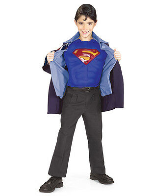 "Superman Clark Kent Kostüm (Superman Returns Kids Clark Kent Costume, Large, Age 8-10, HEIGHT 4' 8"" - 5')"