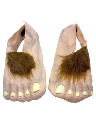 Lord of the Rings Costume Accessory, Kids Hobbit Feet, Age 6+