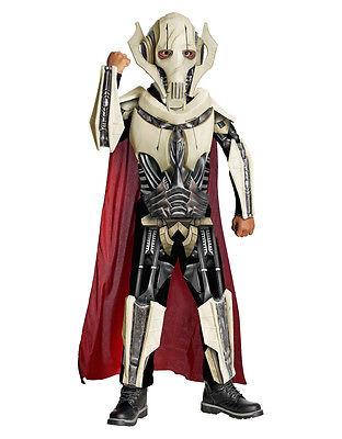 Star Wars Kids Deluxe General Grievous Costume,Lrg,Age 8 - 10,Height 142 - (General Grievous Kostüm Deluxe)