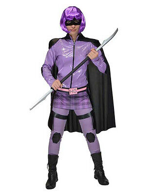 Kick Ass Womens Hit Girl Superhero Costume, Small, BUST 37
