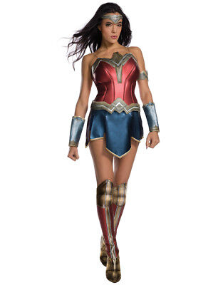 Womens Wonder Woman Costume,Medium, (USA 6 - 10), BUST 36 - 38