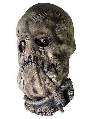 Accessory, Mens Scarecrow 3/4 Mask (Scarecrow Dark Knight Kostüm)