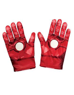 Iron Man Gloves, Kids Avengers Costume Accessory, one - Ironman Kostüm Kid