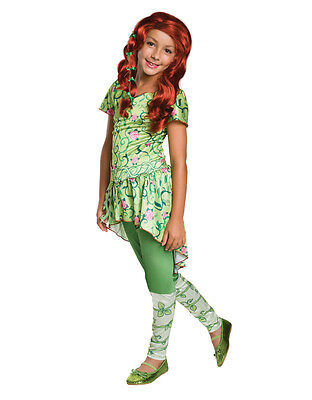 Poison Ivy Kids DC Super Hero Girls Costume,Large,Age 8-10, HEIGHT 4' 8
