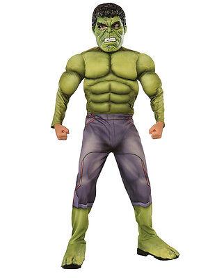 Hulk Deluxe Kids Avengers Age Of Ultron Costume,Medium,Age 5-7, HEIGHT - Avengers 2 Deluxe Hulk Kostüm