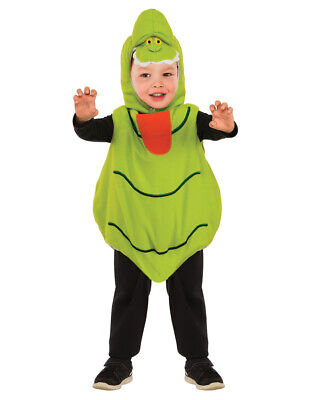 Kids Romper Slimer Ghostbusters Costume XS Age 3 - 4 Height 111-122cm](Child Ghostbusters Costume)