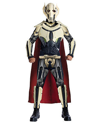 Star Wars Mens Dlx General Grievous Costume,Std,CHEST 44