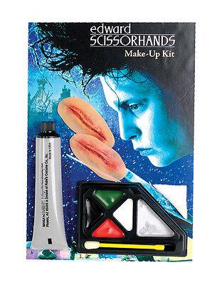 Edward Scissorhands Costume Accessory, Mens Makeup Kit](Edward Scissorhands Makeup)
