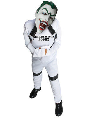 "Joker Kids Straight Jacket DC Supervillian Costume,M,Age 5-7,HEIGHT 4' 2""-4' - Supervillian Costumes"