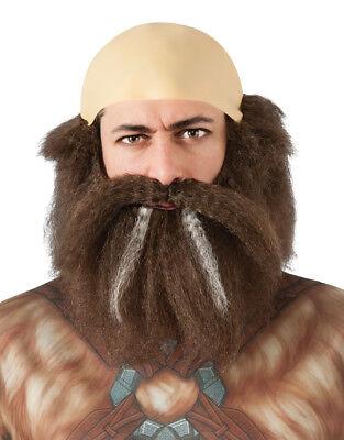 The Hobbit Costume Accessory, Mens Dwalin Hair Kit