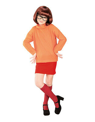 Scooby Doo Costume, Kids Velma Outfit,Medium, Age 5 - 7, HEIGHT 4' 2