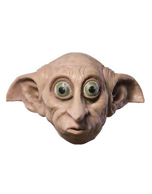Dobby Kids 3/4 Face Mask, Harry Potter Costume Mask, Age 8+
