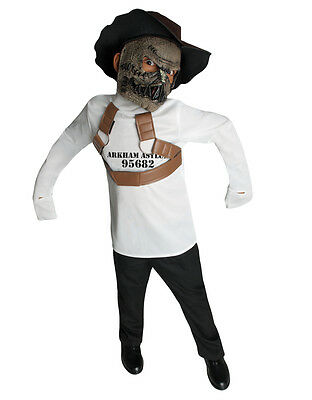 "Scarecrow Kids DC Supervillian Costume, Large, Age 8-10,HEIGHT 4' 8""- - Supervillian Costumes"