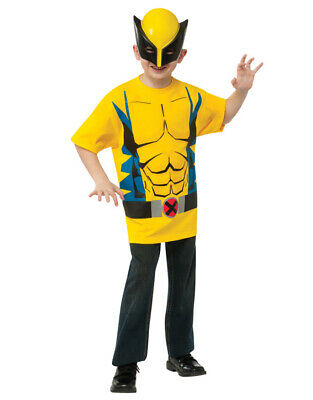 Wolverine Shirt Accessory Kit,Kids Outfit, Medium,Age 5 - 7,HEIGHT 4' 2