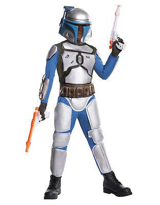 Star Wars Kids Jango Fett Costume Style 2, - Fett 2 Kostüm