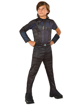 "Hawkeye Kids Civil War Costume, Large, Age 8 - 10 years, HEIGHT 4' 8"" - 5' 0"""