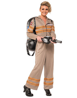 Women's Ghostbusters 2016 Movie Dlx Costume S Bust 33-35