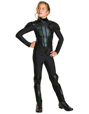 Hunger Games Mockingjay Kid Tween Katniss Dlx Costume (US 2-4), BUST 29