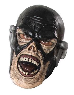 Flash Deluxe Latex Zombie Mask, Mens Blackest Night Costume Accessory