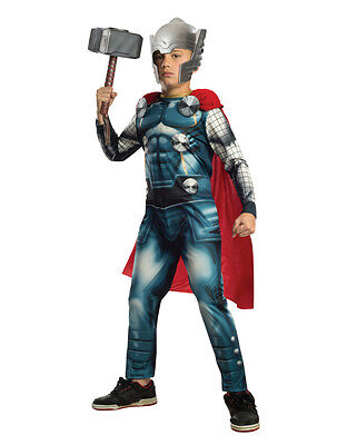 Thor Costume, Kids Avengers Outfit, Medium, Age 5 - 7, HEIGHT 4' 2