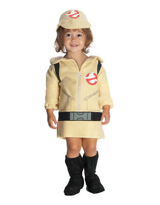 Ghostbusters Kids Girls Costume Toddler Age 1-2 Height  88-99 cm