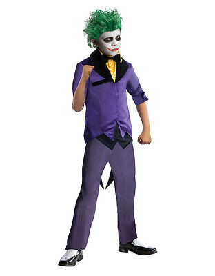 "Joker Kids DC Comics Supervillian Costume,Med,Age 5 - 7, HEIGHT  4' 2"" - 4' - Supervillian Costumes"