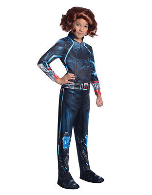 Black Widow Kids Avengers Age Of Ultron Costume,Medium,Age 5-7,HEIGHT 4'2