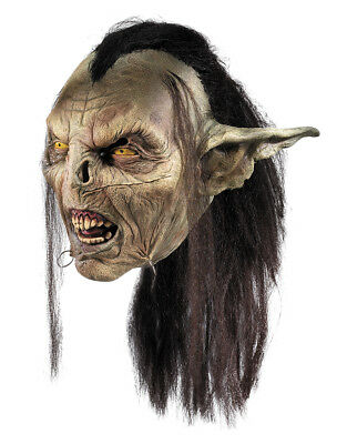 Lord of the Rings Costume Accessory Mens Moria Orc Full Mask