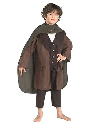 "Lord Of The Rings Kids Frodo Costume, Med, Age 5 - 7, HEIGHT 4' 2"" - 4' 6"