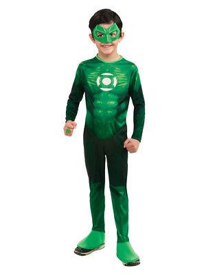 Green Lantern Kids Movie Costume, Large, Age 8 - 10, HEIGHT 4' 8