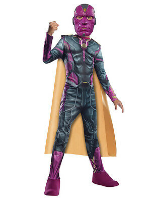 Vision Kids Avengers Age Of Ultron Costume, Large, Age 8 - 10, HEIGHT 4' 8