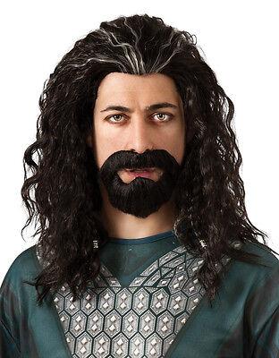 The Hobbit Costume Accessory, Mens Thorin Hair - Thorin Hobbit Kostüm