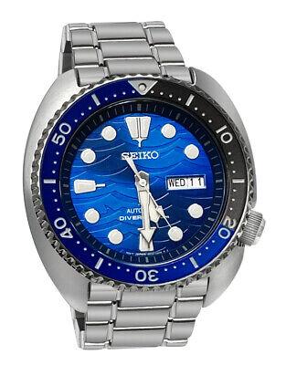 Seiko Prospex Automatic SRPD21 Blue Day Date Dial Steel Bracelet Watch