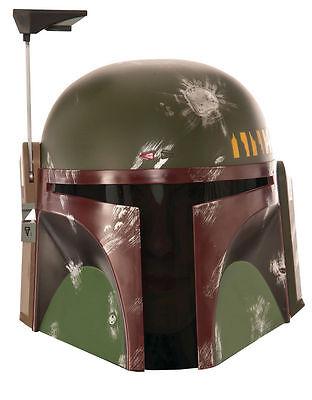 Boba Fett Costume Helmet Mask, Mens Star Wars Deluxe Helmet, Age 14+
