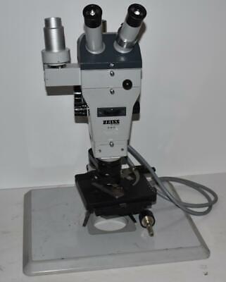 Jm Zeiss Stemi 47 50 57 Microscope - 10x Eyepieces- Objective Hx40