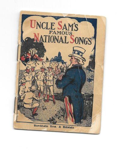 Vintage CRACKER JACK PRIZE Uncle Sam