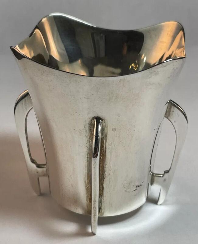English Sterling Silver Arts & Crafts Bud Vase William Aitken Birmingham 1909