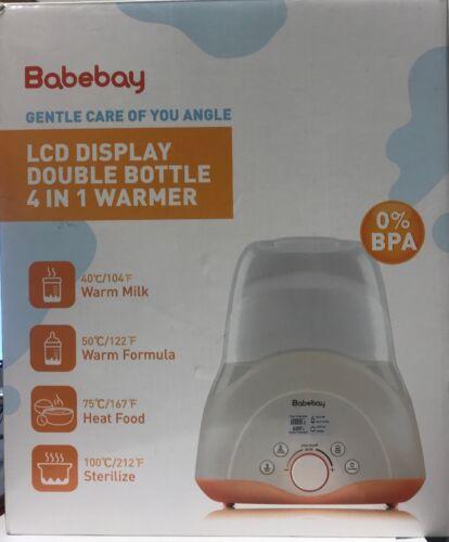 Babebay Baby Bottle Sterilizer & Smart Thermostat 4-in-1 wit