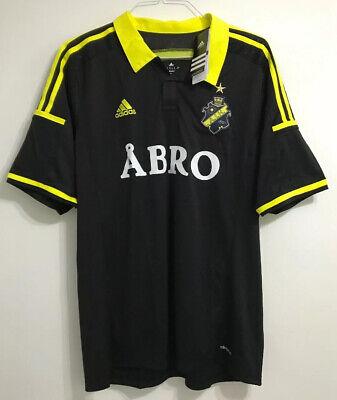 Men's adult AIK Stockholm home football shirt size XL Adidas BNWT 2014-2015 image