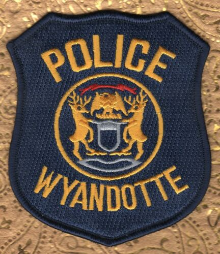 Wyandotte Michigan Police Shouler Patch